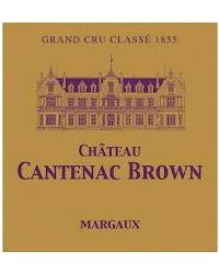 3ème Grand Cru Classé 2014 Château Cantenac Brown Rouge