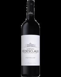 Château Pédesclaux Pauillac Rouge Etiquette