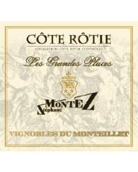 Les Grandes Places 2012 Vignobles du Monteillet S.Montez Rouge