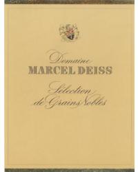Sélection de Grains Nobles 2003 Marcel Deiss Blanc d'Or