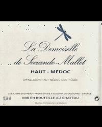 Second Vin de Sociando-Mallet 2012 La Demoiselle de Sociando-Mallet Rouge
