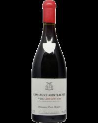 Domaine Paul Pillot Chassagne-Montarachet 1er Crus Clos SaintJean Bourgogne Rouge