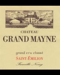 Grand Cru Classé Classé 2012 Château Grand Mayne Rouge