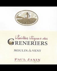 Vieilles Vignes des Greneriers 2011 Domaine Paul Janin et Fils Rouge