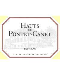 Second Vin 2012 Hauts de Pontet-Canet Rouge