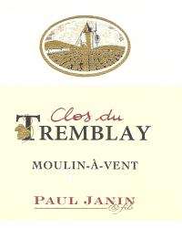 Clos du Tremblay 2010 Domaine Paul Janin et Fils Rouge