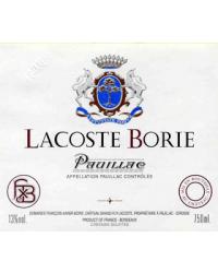 Second vin du Château Grand-Puy Lacoste 2014 Lacoste Borie Rouge