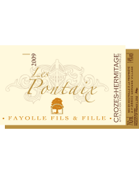 Les Pontaix 2009 Domaine Fayolle Fils & Fille Rouge