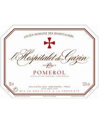Second vin du Château Gazin 2014 L'Hospitalet de Gazin Rouge