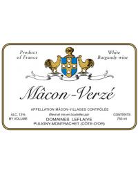 Mâcon-Verzé 2011 Domaine Leflaive Blanc Sec
