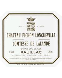 2ème Grand Cru Classé 2012 Château Pichon-Longueville Comtesse de Lalande Rouge