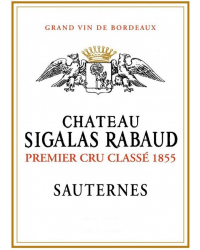 1er Cru Classé de Sauternes 2014 Château Sigalas Rabaud Blanc d'Or