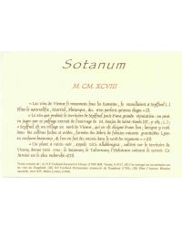 Sotanum 2009 Domaine des Vins de Vienne Rouge en Magnum