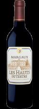 Les Hauts du Tertre Margaux Second Vin du Château du Tertre Rouge étiquette