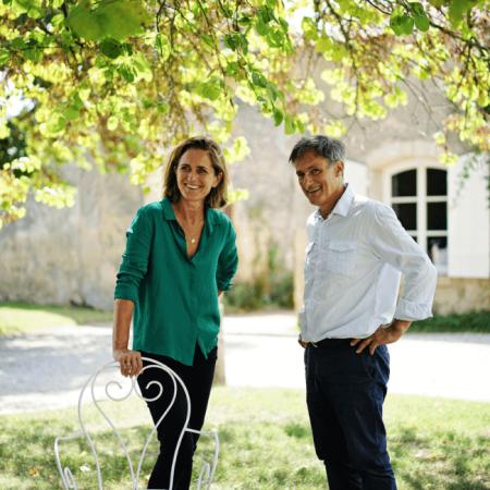 Le couple Perronnat, propriétaires du Château de Cérons