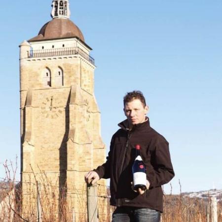 Vincent Aviet, vigneron au domaine
