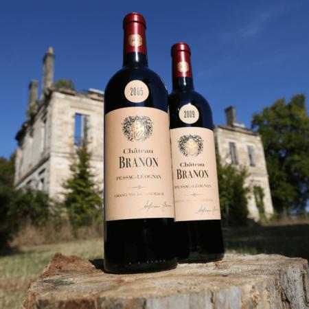 Les bouteilles du Château Branon