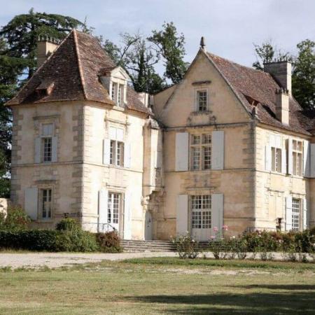 Façade du Château Falfas