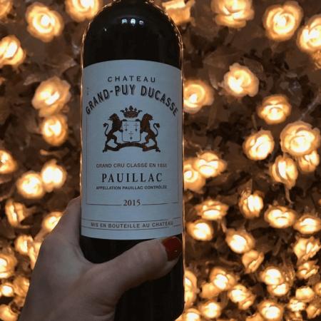 Le vin de la propriété