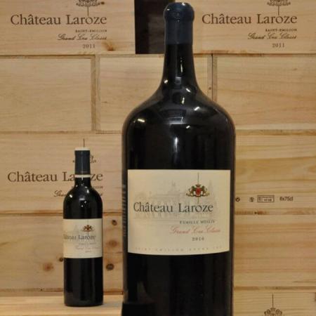 Les bouteilles du Château Laroze