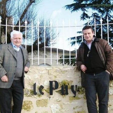 Jean-Pierre et Pascal Amoreau, propriétaires du Château Le Puy