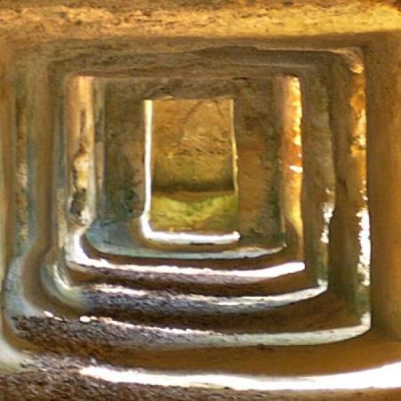 Labyrinthe de caves au Château Ferrand