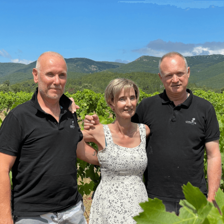 Sylvie, Nicolas et François, trio amical gagnant