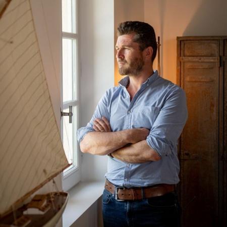 Nicolas Audebert, nouveau dirigeant du domaine
