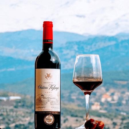 Le vin du domaine et le paysage libanais