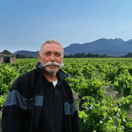 Serge Férigoule, vigneron de talent