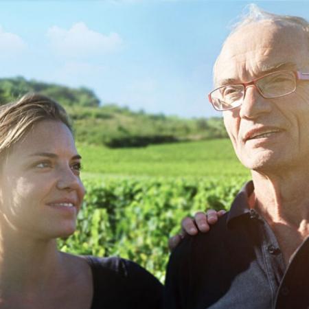 Juliette et Jean-Marc Joblot, vignerons du domaine