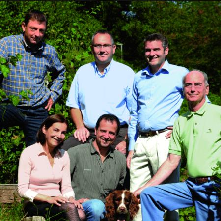 L'équipe du Domaine Schlumberger