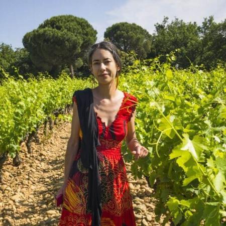 Hélène Thibon, vigneronne au domaine