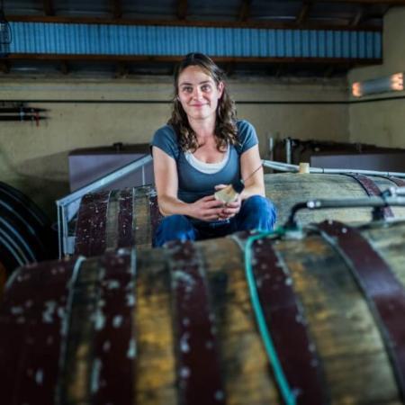 Caroline Gon vinifie les vins du domaine