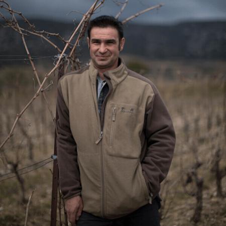 Pierre Vaïsse, propriétaire et vigneron au domaine