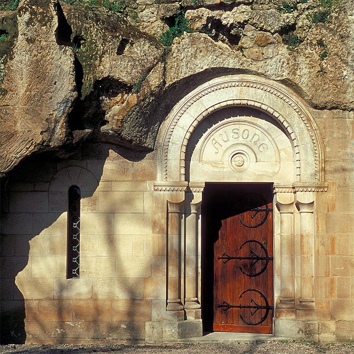 La cave du Château Ausone