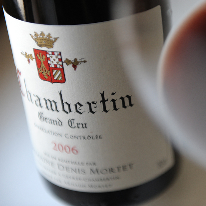 Le Chambertin Grand Cru de Denis Mortet