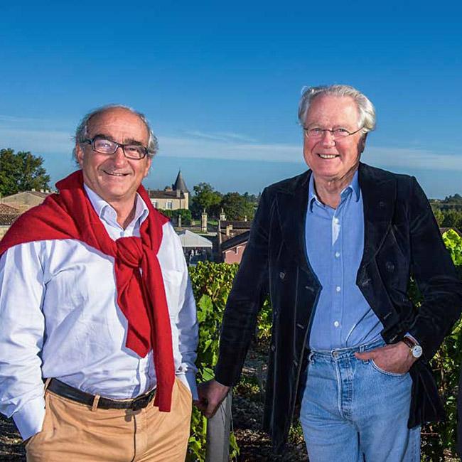 Charles Chevalier et Eric de Rothschild