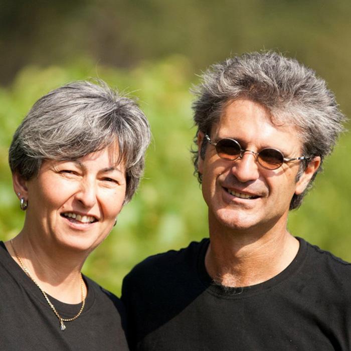 Eric Saurel et son épouse