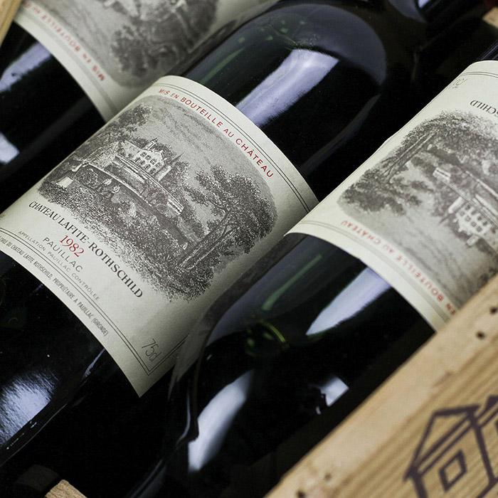 Le vin du Château Lafite Rothschild