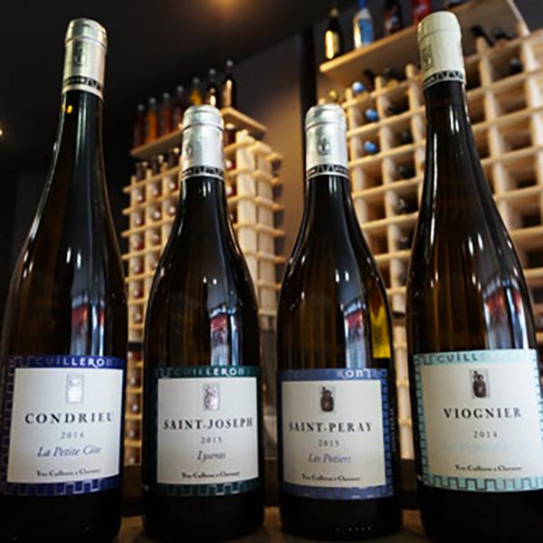 Quelques belles bouteilles de la Cave Cuilleron