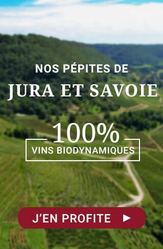 Pépites de Jura et Savoie : 100% Vins Biodynamiques