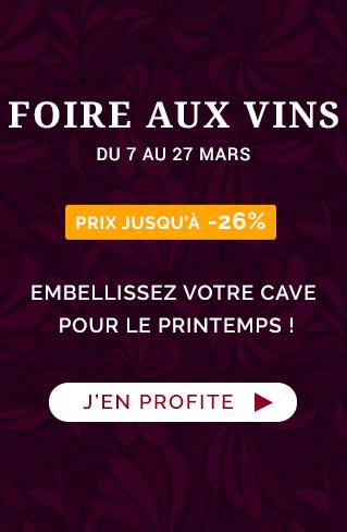 Foire aux Vins de Printemps. Prix jusqu'à -26% !
