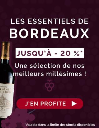 Les Essentiels de Bordeaux : Jusqu'à - 20 % !