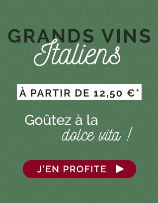 Grands Vins Italiens : Goutez à la Dolce Vita !
