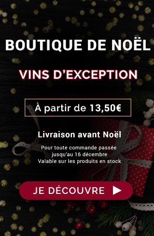 Boutique de Noël : Vins d'exception
