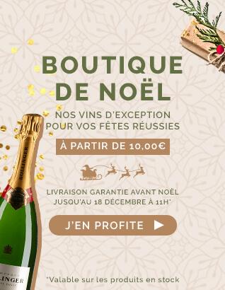 Boutique de Noël : Nos vins d'exception pour vos fêtes réussies