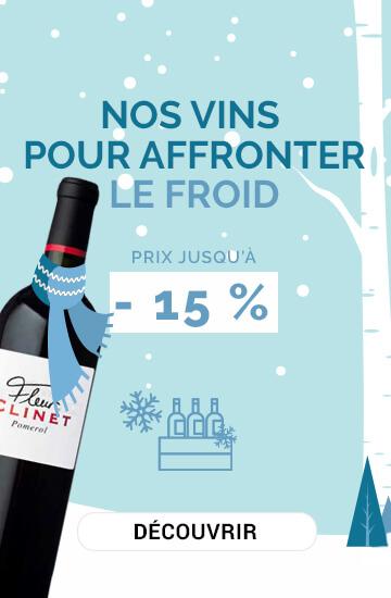 Nos vins pour affronter le froid !