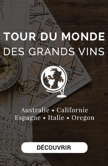 Le Tour du Monde des Grands Vins : Australie, Californie, Espagne, Oregon...