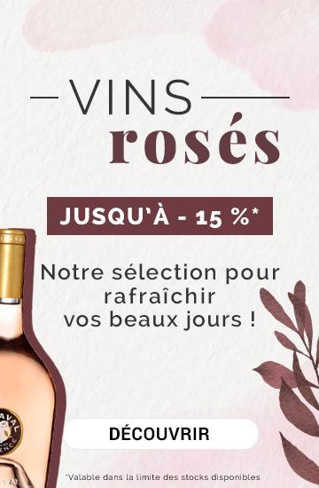 Vins Rosés : notre sélection pour rafraîchir vos beaux jours !